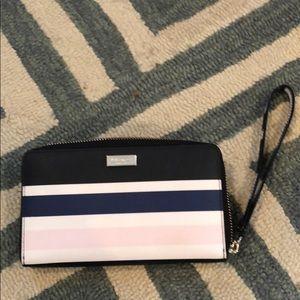 Kate Spade striped wallet